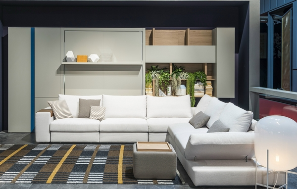Living Room Furniture Ideas White Sectional Sofa Murphy