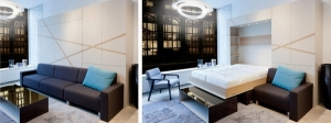 contemporary-living-room-space-saving-furniture-ideas-sectional-sofa-murphy-sofa-bed-low-coffee-table
